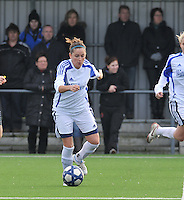 Club Brugge Dames - Rassing Harelbeke : Kelly Decubber.foto DAVID CATRY / Vrouwenteam.Be