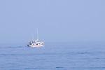 Segelboot nahe Glavotok; sailing boat near Glavotok, Krk Island, Dalmatia, Croatia. Insel Krk, Dalmatien, Kroatien. Krk is a Croatian island in the northern Adriatic Sea, located near Rijeka in the Bay of Kvarner and part of the Primorje-Gorski Kotar county. Krk ist mit 405,22 qkm nach Cres die zweitgroesste Insel in der Adria. Sie gehoert zu Kroatien und liegt in der Kvarner-Bucht suedoestlich von Rijeka.
