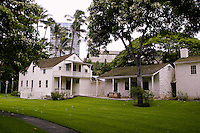 The Mission Houses Museum encompasses the oldest existing buildings erected by the first missionary contingent to Honolulu.Located on King st. near downtown Honolulu.