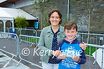 Brian Clancy Killarney with his mother Helen after he received his vaccine in Killarney on Tuesday