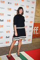 GEMMA ARTERTON - RED CARPET OF THE FILM 'THE GIRL WITH ALL THE GIFTS' - 41ST TORONTO INTERNATIONAL FILM FESTIVAL 2016 . 15/09/2016. # FESTIVAL INTERNATIONAL DU FILM DE TORONTO 2016