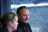NZ head coach Graham Shaw during the Sentinel Homes Trans Tasman Series hockey match between the New Zealand Black Sticks Women and the Australian Hockeyroos at Massey University Hockey Turf in Palmerston North, New Zealand on Sunday, 30 May 2021. Photo: Dave Lintott / lintottphoto.co.nz