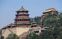 Fo Xiang Ge-Pagode im Sommerpalast (Yihe Yuan)  in Peking, China, Unesco-Weltkulturerbe