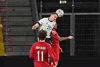 Robin Gosens (Deutschland Germany) Kopfball - Innsbruck 02.06.2021: Deutschland vs. Daenemark, Tivoli Stadion Innsbruck