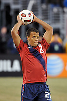 Timothy Chandler (21) of the United States. The United States (USA) and Argentina (ARG) played to a 1-1 tie during an international friendly at the New Meadowlands Stadium in East Rutherford, NJ, on March 26, 2011.