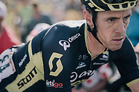 Mathew Hayman (AUS/Orica-Scott) finishing up the Col d'Izoard (HC/2360m/14.1km/7.3%)<br /> <br /> 104th Tour de France 2017<br /> Stage 18 - Briancon › Izoard (178km)