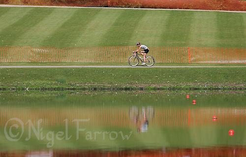 11 AUG 2007 - NOTTINGHAM, UK - British Club Relay Triathlon Championships. (PHOTO (C) NIGEL FARROW)