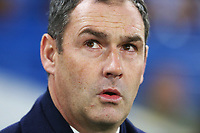 Swansea City manager Paul Clement prior to kick off of the Premier League match between Chelsea and Swansea City at Stamford Bridge, London, England, UK. Wednesday 29 November 2017
