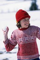 Europe/Suisse/Saanenland/Schonried: Bataillle de boules de neige - AUTORISTION N°316