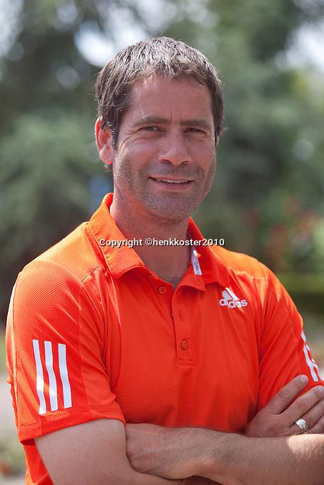 17-06-10, Tennis, Rosmalen, Unicef Open, Persconferentie Daviscup, Glen Schaap