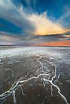 salt formations, Death Valley National Park, California