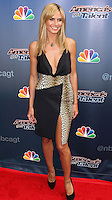 """HOLLYWOOD, LOS ANGELES, CA, USA - APRIL 22: Model Heidi Klum arrives at NBC's """"America's Got Talent"""" Red Carpet Event held at the Dolby Theatre on April 22, 2014 in Hollywood, Los Angeles, California, United States. (Photo by Xavier Collin/Celebrity Monitor)"""