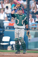 Fort Wayne TinCaps catcher Jason Hagerty during a game vs. the West Michigan Whitecaps at Fifth Third Field in Comstock Park, Michigan August 18, 2010.   Fort Wayne defeated West Michigan 5-1.  Photo By Mike Janes/Four Seam Images