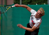 August 13, 2014, Netherlands, Raalte, TV Ramele, Tennis, National Championships, NRTK,  Botic van de Zandschulp (NED)<br /> Photo: Tennisimages/Henk Koster