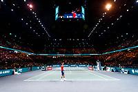 Rotterdam, The Netherlands, 14 Februari 2020, ABNAMRO World Tennis Tournament, Ahoy,   Gaël Monfils (FRA).<br /> Photo: www.tennisimages.com