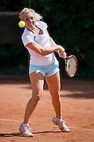 August 12, 2014, Netherlands, Raalte, TV Ramele, Tennis, National Championships, NRTK,  Kim van der Horst (NED)<br /> Photo: Tennisimages/Henk Koster