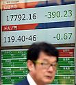Japanese stocks drop further