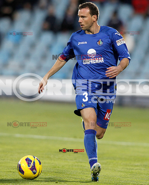 Getafe's Mane Jimenez during La Liga match.November 18,2012. (ALTERPHOTOS/Acero) NortePhoto