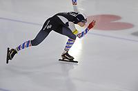 SCHAATSEN: HEERENVEEN: IJsstadion Thialf, 15-12-2017, NK Junioren sprint en Allround, ©foto Martin de Jong