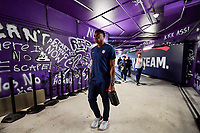 ORLANDO, FL - NOVEMBER 15: Sean Johnson #23 of the United States walks through the tunnel out to the field during a game between Canada and USMNT at Exploria Stadium on November 15, 2019 in Orlando, Florida.
