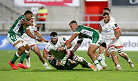 Friday 2nd October 2020 | Ulster Rugby vs Benetton Rugby<br /> <br /> Marcell Coetzee drives play forward during the PRO14 Round 1 clash between Ulster Rugby and Benetton Rugby at Kingspan Stadium, Ravenhill Park, Belfast, Northern Ireland. Photo by John Dickson / Dicksondigital