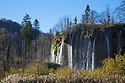 Veliki Prstavci waterfalls, Plitvice Lakes National Park, Croatia. November.