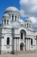 Orthodoxe Erzengel-Michael-Kathedrale in Kaunas, Litauen, Europa
