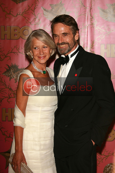 Helen Mirren and Jeremy Irons<br />at the 2006 HBO Emmy After Party. Pacific Design Center, West Hollywood, CA. 08-27-06<br />Dave Edwards/DailyCeleb.com 818-249-4998