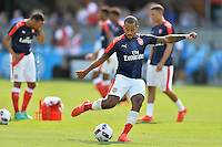 San Jose, CA - Thursday July 28, 2016: Theo Walcott during a Major League Soccer All-Star Game match between MLS All-Stars and Arsenal FC at Avaya Stadium.