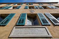 Europe/France/2A/Corse du Sud/Ajaccio: Musée de la Maison Bonaparte est un musée créé dans la maison où Napoléon Bonaparte est né
