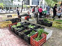 Recife (PE), 14/04/2021 - A cidade de Recife tem vários pontos de feiras agroecológicas, sendo uma na rua da Aurora, centro da capital, caracterizada como ponto comercial por se tratar apenas de uma banca nas ruas dentro de prédios públicos e feiras tradicionais.