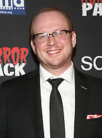 HOLLYWOOD, CA - OCTOBER 12: Jeff Allen Geare, at the 21st Screamfest Opening Night Screening Of The Retaliators at Mann Chinese 6 Theatre in Hollywood, California on October 12, 2021. Credit: Faye Sadou/MediaPunch