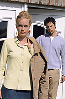 Woman is leaving husband