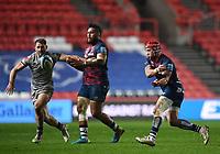 5th February 2021; Ashton Gate Stadium, Bristol, England; Premiership Rugby Union, Bristol Bears versus Sale Sharks; Siale Piutau of Bristol Bears passes the ball down the line