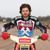 Richard Lawson of Lakeside Hammers - Lakeside Hammers Speedway Press & Practice Day at Arena Essex Raceway - 20/03/15 - MANDATORY CREDIT: Gavin Ellis/TGSPHOTO - Self billing applies where appropriate - contact@tgsphoto.co.uk - NO UNPAID USE