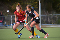 Hawkes Bay v Southland. 2021 National Women's Under-18 Hockey Tournament day three at National Hockey Stadium in Wellington, New Zealand on Tuesday, 13 July 2021. Photo: Dave Lintott / lintottphoto.co.nz https://bwmedia.photoshelter.com/gallery-collection/Under-18-Hockey-Nationals-2021/C0000T49v1kln8qk
