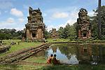 Temples d Angkor, capitale de l ancien empire khmer. .Cambodge.