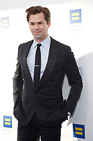 LOS ANGELES - MAR 30:  Luke Macfarlane at the Human Rights Campaign 2019 Los Angeles Dinner  at the JW Marriott Los Angeles at L.A. LIVE on March 30, 2019 in Los Angeles, CA