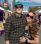 Derrick and Tiffany during the Italian Festival in downtown Reno on Saturday, Oct. 7, 2017.