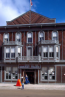 "Dawson City, YT, Yukon Territory, Canada - National Historic Site, NHS - Historic ""Palace Grand Theatre"" (built 1897), ""Gaslight Follies"""