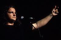 Daniel belanger<br />  au Francofolies de Montreal,  avril 1994.<br /> <br /> <br /> PHOTO : Agence Quebec Presse