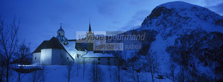 Europe/France/Rhone-Alpes/73/Savoie/Saint-Martin-de-Belleville: Chapelle Notre-Dame-de-la-Vie