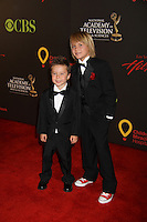 AMC Kids (maybe JR's kid) at the 38th Annual Daytime Entertainment Emmy Awards 2011 held on June 19, 2011 at the Las Vegas Hilton, Las Vegas, Nevada. (Photo by Sue Coflin/Max Photos)