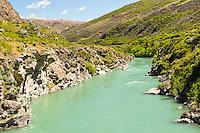 Kawarau River, Central Otago, South Island, New Zealand, NZ