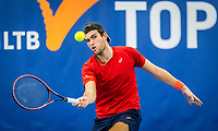 Amstelveen, Netherlands, 17  December, 2020, National Tennis Center, NTC, NK Indoor, National  Indoor Tennis Championships,   :  Thijmen Loof (NED) <br /> Photo: Henk Koster/tennisimages.com