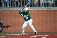Derek Fritz (26) of the Charlotte 49ers at bat against the Marshall Thundering Herd at Hayes Stadium on April 23, 2016 in Charlotte, North Carolina. The Thundering Herd defeated the 49ers 10-5.  (Brian Westerholt/Four Seam Images)