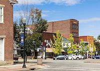 Small town America, Carrollton, Ohio, USA.