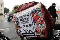 01/07/2020 - PROTESTO DE ENTREGADORES DE APP