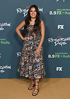 """BEVERLY HILLS, CA - AUGUST 4: Cast member Paulina Alexis attends the FX Networks 2021 Summer Television Critics Association session for """"Reservation Dogs"""" at the Beverly Hilton on August 4, 2021 in Beverly Hills, California. (Photo by Frank Micelotta/FX/PictureGroup)"""