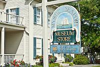 Mystic seaport Museum store, Mystic, Connecticut, CT, USA